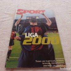 Coleccionismo deportivo: (BTA)EXTRA SPORT LA LIGA DEL 2000 CON TODAS LAS PLANTILLAS -BARÇA-F.C.BARCELONA-REAL MADRID. Lote 280932023