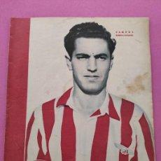 Coleccionismo deportivo: PERIODICO MARCA Nº 115 1945 VALENCIA 4-1 REAL MADRID - SEVILLA - HERCULES - CARTAGENA-ALMANSA. Lote 280937458