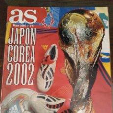 Coleccionismo deportivo: GUÍA EXTRA AS MUNDIAL COREA Y JAPÓN 2002.. Lote 282190523