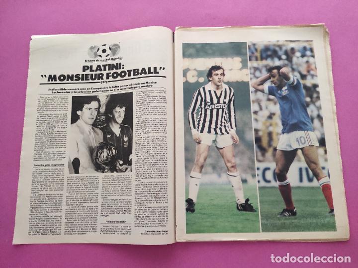 Coleccionismo deportivo: DIARIO EL MUNDO DEPORTIVO 1986 REAL ZARAGOZA CAMPEON COPA DEL REY 85/86 - POSTER FIGNON HUGO SANCHEZ - Foto 2 - 282949608