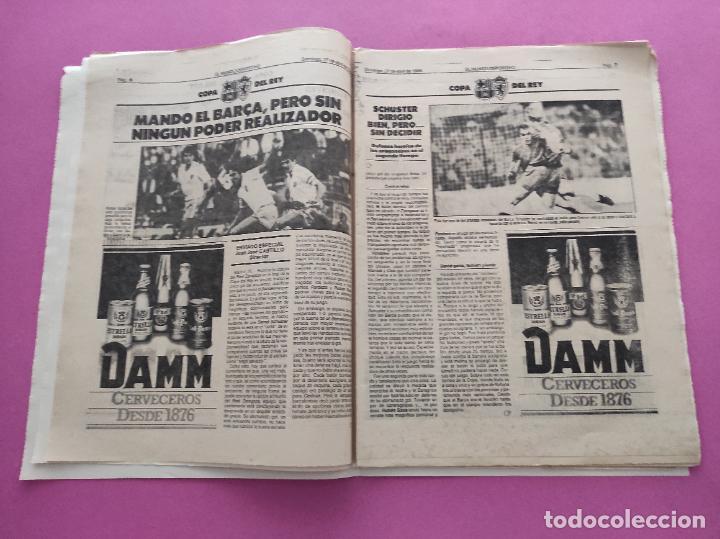 Coleccionismo deportivo: DIARIO EL MUNDO DEPORTIVO 1986 REAL ZARAGOZA CAMPEON COPA DEL REY 85/86 - POSTER FIGNON HUGO SANCHEZ - Foto 4 - 282949608