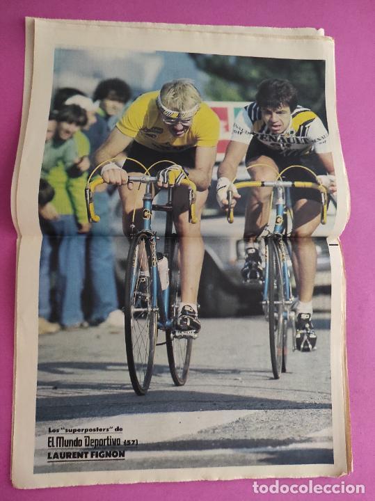Coleccionismo deportivo: DIARIO EL MUNDO DEPORTIVO 1986 REAL ZARAGOZA CAMPEON COPA DEL REY 85/86 - POSTER FIGNON HUGO SANCHEZ - Foto 9 - 282949608