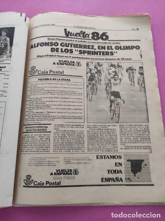 Coleccionismo deportivo: DIARIO EL MUNDO DEPORTIVO 1986 REAL ZARAGOZA CAMPEON COPA DEL REY 85/86 - POSTER FIGNON HUGO SANCHEZ - Foto 11 - 282949608