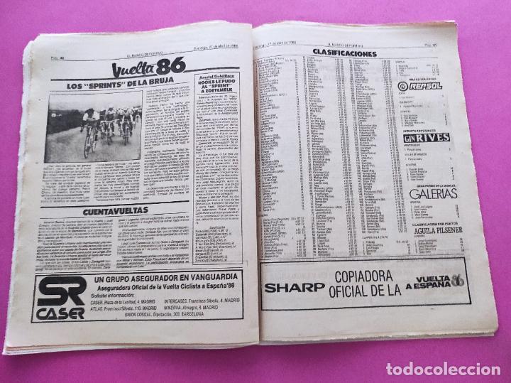 Coleccionismo deportivo: DIARIO EL MUNDO DEPORTIVO 1986 REAL ZARAGOZA CAMPEON COPA DEL REY 85/86 - POSTER FIGNON HUGO SANCHEZ - Foto 12 - 282949608
