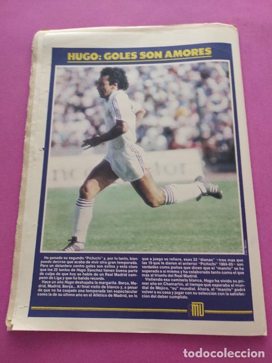 Coleccionismo deportivo: DIARIO EL MUNDO DEPORTIVO 1986 REAL ZARAGOZA CAMPEON COPA DEL REY 85/86 - POSTER FIGNON HUGO SANCHEZ - Foto 13 - 282949608
