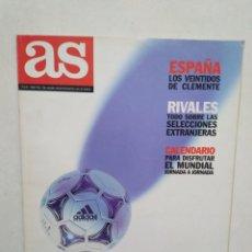 Coleccionismo deportivo: AS FRANCIA 98 EL GRAN LIBRO DEL MUNDIAL. Lote 283972428