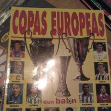 Coleccionismo deportivo: EXTRA DON BALÓN COPAS EUROPEAS 97 98. Lote 284178163