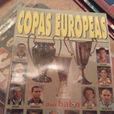 Coleccionismo deportivo: EXTRA COPAS EUROPEAS DON BALÓN. 98 99. Lote 284178238
