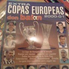 Coleccionismo deportivo: EXTRA COPAS EUROPEAS DON BALÓN 2000 - 01. Lote 284178413