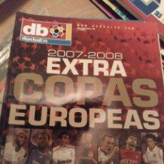 Coleccionismo deportivo: EXTRA DON BALÓN COPAS EUROPEAS 2007 2008. Lote 284178803