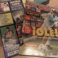 Coleccionismo deportivo: EXTRA LIGA 96 97, 1996 1997 DON BALÓN CON AMPLIACIÓN O ANEXO. Lote 284178973