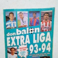 Coleccionismo deportivo: EXTRA LIGA DON BALÓN 93-94. Lote 284283793