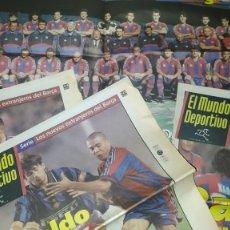 Coleccionismo deportivo: AÑO 1996: MUNDO DEPORTIVO: LOS EXTRANJEROS DEL BARÇA Y POSTERS DE SEVILLA, BETIS, CÁDIZ Y CÓRDOBA. Lote 285201468