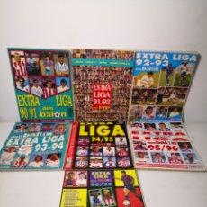 Coleccionismo deportivo: (1990-1997) - DON BALÓN EXTRA LIGA COLECCIÓN LOTE 7 REVISTAS. Lote 285272043