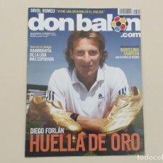 Coleccionismo deportivo: REVISTA DON BALÓN. Nº 1870. DIEGO FORLÁN HUELLA DE ORO (ÚLTIMO NÚMERO PUBLICADO). Lote 165217210