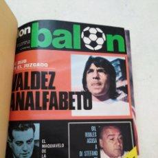 Coleccionismo deportivo: DON BALÓN ( AÑO 1976 ) 14 REVISTAS NÚMEROS( DESDE LA 40 HASTA LA 52 INCLUSIVE )+EXTRA LIGA 1976-1977. Lote 285803163
