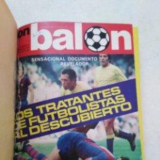Coleccionismo deportivo: DON BALÓN ( AÑO 1976 ) 13 REVISTAS NÚMEROS ( DESDE LA 53 HASTA LA 65 INCLUSIVE ). Lote 285804703