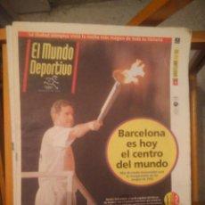 Coleccionismo deportivo: TODOS LOS MUNDO DEPORTIVO DE LA OLIMPIADA DE BARCELONA 92. Lote 286225798