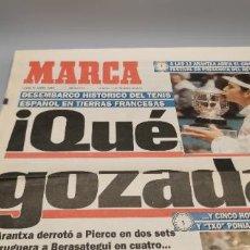 Coleccionismo deportivo: PORTADA Y CONTRAPORTADA MARCA, 6-6-1994.BRUGUERA Y ARANCHA SANCHEZ VICARIO CAMPEONES ROLAND GARROS. Lote 286649983