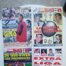 Coleccionismo deportivo: LOTE DE DON BALÓN ( 3 REVISTAS Y 1 EXTRA LIGA 95-96 ). Lote 287039018