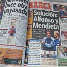 Collezionismo sportivo: DIARIO MARCA MES DE JUNIO 2000 - AÑO CAMPEON EUROPA - REAL MADRID - LA OCTAVA. Lote 287266613