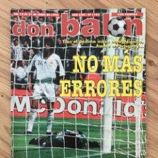 Coleccionismo deportivo: FÚTBOL DON BALÓN 1183 - FRANCIA 98 - POSTER KIKO ESPAÑA - SELECCIÓN ESPAÑOLA - MUNDIAL WORLD CUP. Lote 287333593