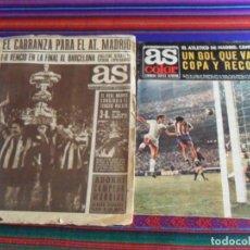 Coleccionismo deportivo: AS COLOR ATLÉTICO DE MADRID CAMPEÓN COPA GENERALÍSIMO 1972 Y AS 232 CAMPEÓN TROFEO CARRANZA 1968. Lote 287591538