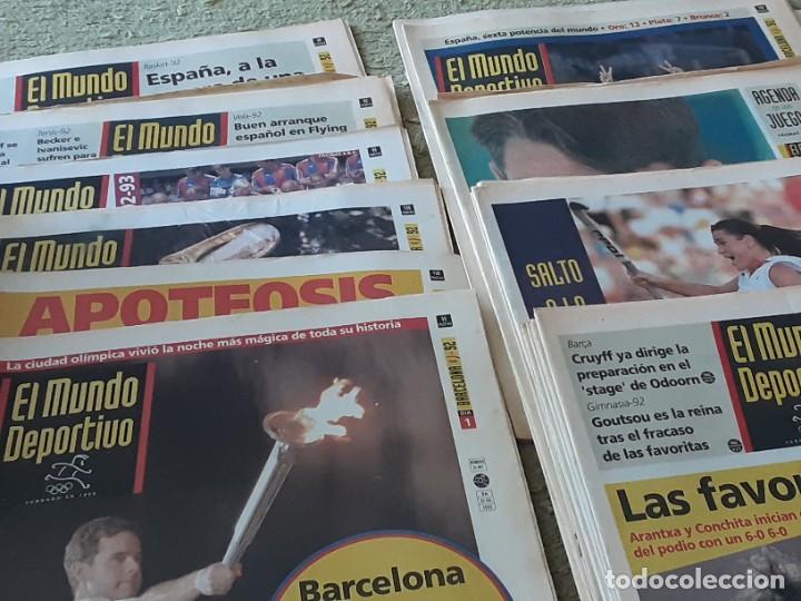 COLECCION MUNDO DEPORTIVO OLIMPIADAS 92 , 25 JULIO AL 12 AGOSTO (Coleccionismo Deportivo - Revistas y Periódicos - Mundo Deportivo)