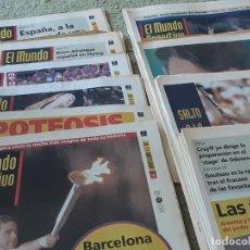 Coleccionismo deportivo: COLECCION MUNDO DEPORTIVO OLIMPIADAS 92 , 25 JULIO AL 12 AGOSTO. Lote 288027583