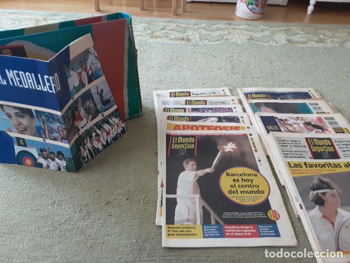 Coleccionismo deportivo: COLECCION MUNDO DEPORTIVO OLIMPIADAS 92 , 25 JULIO AL 12 AGOSTO - Foto 3 - 288027583