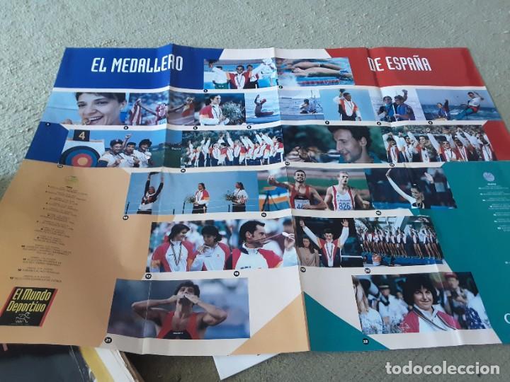 Coleccionismo deportivo: COLECCION MUNDO DEPORTIVO OLIMPIADAS 92 , 25 JULIO AL 12 AGOSTO - Foto 5 - 288027583