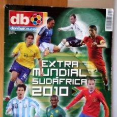 Coleccionismo deportivo: DB EXTRA MUNDIAL SUDÁFRICA 2010 DON BALÓN Nº 121 MESSI CRISTIANO RONALDO INIESTA ESPAÑOLA CAMPEON. Lote 288338093