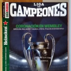 Coleccionismo deportivo: GUIA MARCA LIGA CAMPEONES 2011 ACTUALIZACION DE LIGA LEO MESSI - CRISTIANO RONALDO - RAUL. Lote 288339168