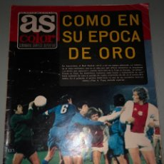Coleccionismo deportivo: 1973 AJAX REAL MADRID COPA EUROPA POSTER AT MADRID. Lote 288428873