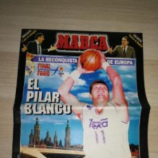 Coleccionismo deportivo: ESPECIAL FINAL FOUR REAL MADRID 1995 MARCA. Lote 288542348