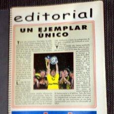 Coleccionismo deportivo: EXTRA DON BALÓN EXTRA COPAS EUROPA TEMPORADA LIGA CAMPEONES 97/98 CHAMPIONS LEAGUE FÚTBOL FOOTBALL. Lote 288571888