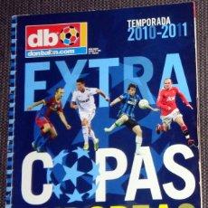 Coleccionismo deportivo: DON BALÓN EXTRA COPAS EUROPA LIGA CAMPEONES CHAMPIONS LEAGUE 2010 2011 FÚTBOL FOOTBALL MESSI. Lote 288572173