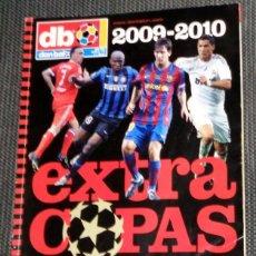 Coleccionismo deportivo: DON BALÓN EXTRA COPAS EUROPA CHAMPIONS LEAGUE 2009 2010 FÚTBOL MESSI CRISTIANO RONALDO REAL MADRID. Lote 288572408
