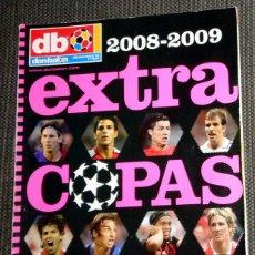 Coleccionismo deportivo: DON BALÓN EXTRA COPAS EUROPA LIGA CAMPEON CHAMPIONS LEAGUE 2008 2009 FÚTBOL MESSI CRISTIANO RONALDO. Lote 288572633
