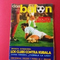 Coleccionismo deportivo: DON BALON Nº 5 AÑO 1975. Lote 288890443