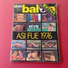 Coleccionismo deportivo: DON BALON EXTRA DEPORTIVO AÑO 1977. Lote 288890588