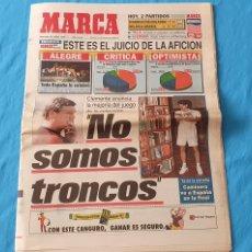 Coleccionismo deportivo: PERIÓDICO DEPORTIVO MARCA - NO SOMOS TRONCOS - 29/06/94. Lote 288891703