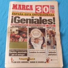 Coleccionismo deportivo: PERIÓDICO DEPORTIVO MARCA - ¡ GENIALES ! 03/07/94. Lote 288893573