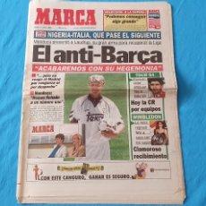 Coleccionismo deportivo: PERIÓDICO DEPORTIVO MARCA - EL ANTI - BARÇA - 05/07/94. Lote 288894483