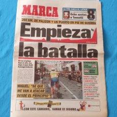 Coleccionismo deportivo: PERIÓDICO DEPORTIVO MARCA - EMPIEZA LA BATALLA - 13/07/94. Lote 288900173