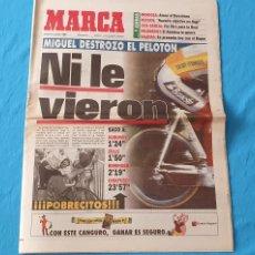 Coleccionismo deportivo: PERIÓDICO DEPORTIVO MARCA - NI LE VIERON - 14/07/94. Lote 288900703
