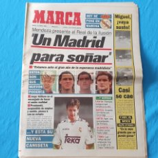 Coleccionismo deportivo: PERIÓDICO DEPORTIVO MARCA - UN MADRID PARA SOÑAR - 19/07/94. Lote 288903283