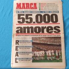 Coleccionismo deportivo: PERIÓDICO DEPORTIVO MARCA - 55.000 AMORES - 20/07/94. Lote 288903698