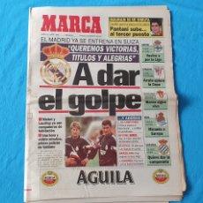 Coleccionismo deportivo: PERIÓDICO DEPORTIVO MARCA - A DAR EL GOLPE - 21/07/94. Lote 288904293