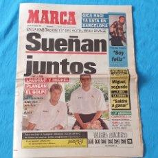 Coleccionismo deportivo: PERIÓDICO DEPORTIVO MARCA - SUEÑAN JUNTOS - 22/07/94. Lote 288904788